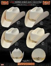 1000x Tejana Taco Style Western Cowboy Straw Hat