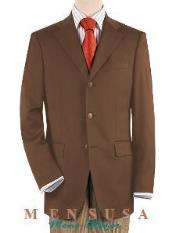 3 ~ Three buttons Notch Lapel Front Jacket Four On Sleeves
