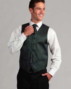 Mens Teal 4-Piece Vest Set Also available in Big and Tall Sizes