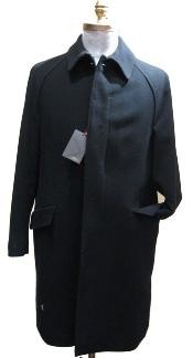 Dress Coat 38 inch three button single breasted coat vent Full-length