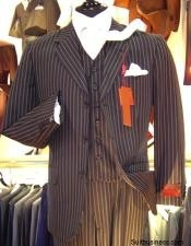 Bold Pinstripe Vested three