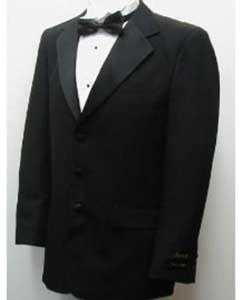 Buy & Dont pay Tuxedo Rental New Mens Single Breasted Three Button Black Tuxedo Suit Cheap Suits