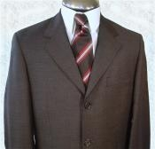 Brown premier quality Online Sale Clearance Super 120s Wool Available in 2 or 3 Buttons Style Regular