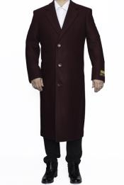 Coat Full Length Wool
