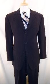 Button Dark Navy Blue Suit For Men HIGH GRADE Super 150s