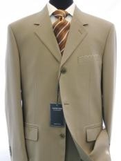 ST2 Dark Tan ~ Beige 100% Worsted Wool Higher Quality Available