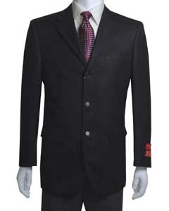Unique Dress Blazer For Men Jacket For Men Sale Three Buttons Notch Lapel Vented In Black Basketweave
