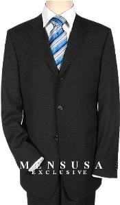 Solid Black Quality Suit Separates Total Comfort Any Size Jacket&Any Size