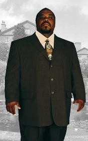 BIG & TALL BLACK Discounted Sale Up to Size 82 SUIT