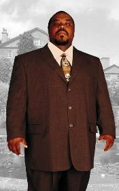 BIG & TALL BROWN Discounted Sale Up to Size 82 SUIT HAND MADE