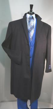 Coat 3 Button Long