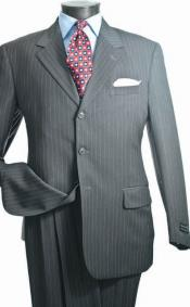 3 Button Suit - Gray