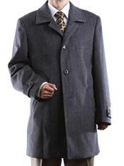 Buttons Luxury Wool/Cashmere Gray