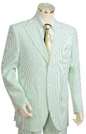 3 Buttons Suits For Men Style Comes in White lime mint