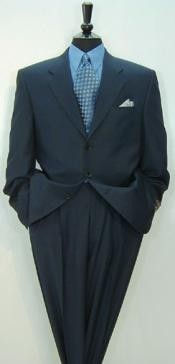 High End Notch Lapel Side Vented 3 buttons Super 150 Wool