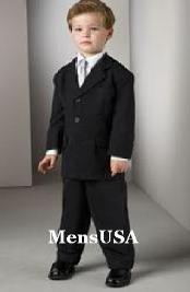 boys pinstripe suit