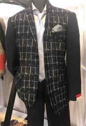 Mens Black 2 Button Blazer ~ Sportcoat ~ Jacket