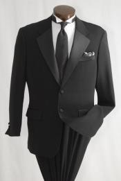 Mens Inexpensive 2 Button Tuxedo