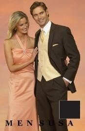 Light Weight Two Button CoCo Brown Notch Wedding Suits As seen IN Bridal Magazin