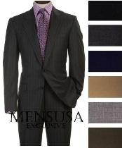 ML55 2 Buttons Style Super Worsted Virgin Wool Business Suits Comes
