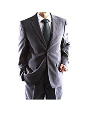 2 Button Charcoal Single Breasted Suit (We have more Braveman suits