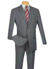 2 Button Cheap Priced Slim Fit Suit With Flat Front Pant