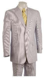 Two Button Gray Suit