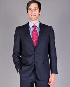 Slim Fit Navy Blue