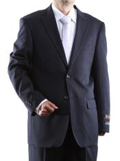 Bolzano Mens 100% Polyester Two Button Suit With Pleated Pant