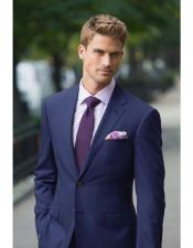 Mens Dark navy suit purple tie Package Combo ~ Combination deal 2
