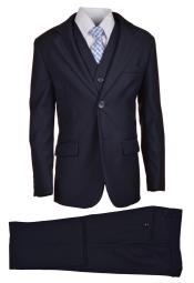 Navy Boys Suit