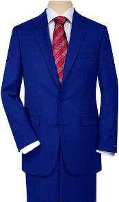 Royal blue Quality Total Comfort Suit Separate Any Size Jacket &