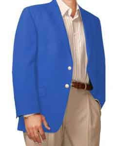 Button Blazer French-Blue (Men