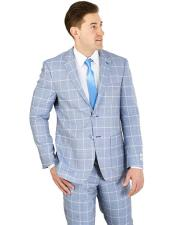 Bruno Blue Modern Fit