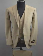 Tufo Mens Tan Wool