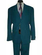 Mens Jewel Tone Two Button  Stylish Fit 2 Piece 100% Polyester