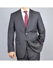 Mens Two Buttons Tonal Authentic Giorgio Fiorelli Brand suits Flat Front Pants