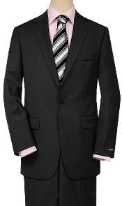 Black Quality Suit Separates Total Comfort Any Size Jacket&Any Size Pants