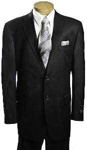 Button Black Tone/Tone affordable suit online sale