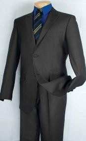 Breasted 2 Button Peak Lapel Cheap Priced Business Suits Clearance Sale