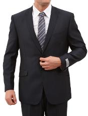 2 Button Front Closure Slim Fit Suit