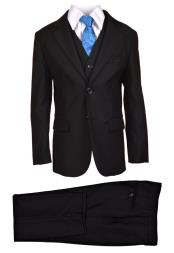 Boys Suit Black