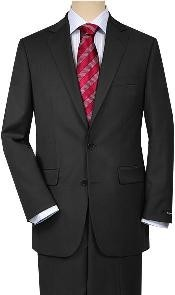Solid Charcoal Gray Quality Suit Separates Total Comfort Any Size Jacket&Any