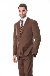 2 Piece 2 Button Super 150s Extra Fine Coco Tone on