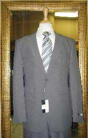 Mens 2 Button Grey Discounted affordable clearance sale Poly Cheap Suit