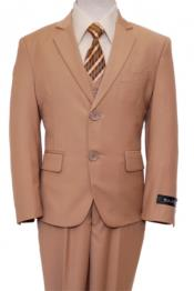 Button Kids Sizes Front Closure Boys Suit Perfect For boys wedding