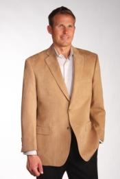 Charles Two Discount Affordable 2 Button Camel ~ Khaki ~ Tan