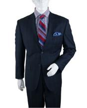 Mens Two Buttons Plaid ~ Window Pane Cheap Priced Business Suits Clearance