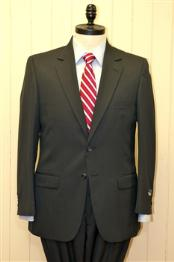 & Tall XL Mens 2 Button Single Breasted Wool Suit in