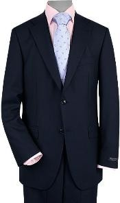 Button Vented Dark Navy
